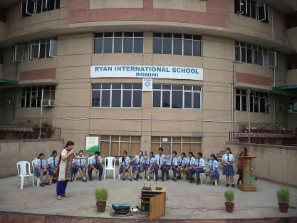 ryan international school rohini sector 25 holiday homework