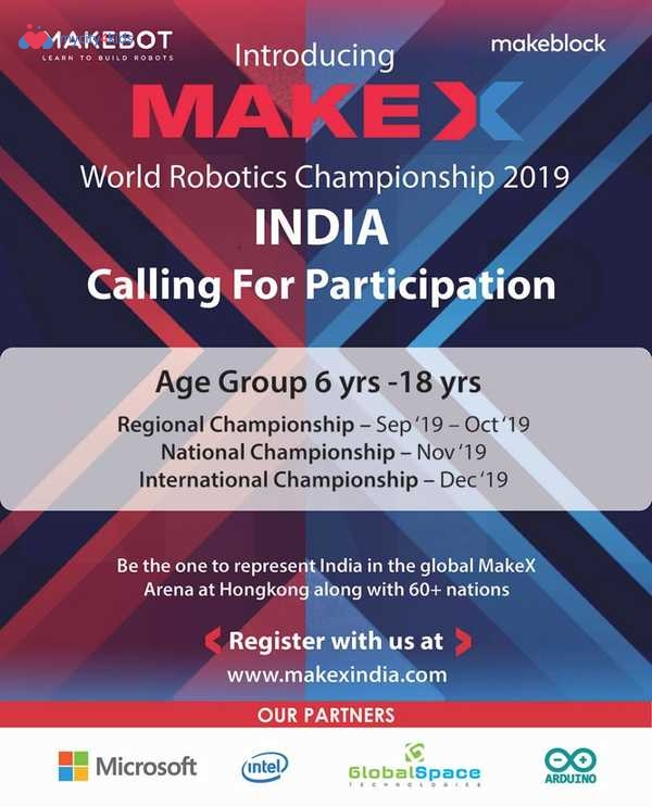 MakeX World Robotics Championship 2019 in Others, Mumbai