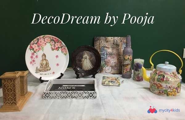 Decoupage Workshop for Beginners in Sector 50 Noida, Delhi