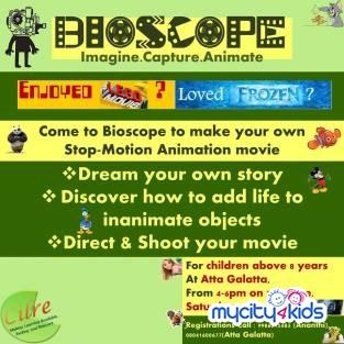 Bioscope - Imagine, Capture, Animate at Atta Galatta in